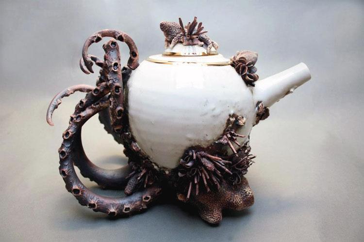 чайники из керамики фото