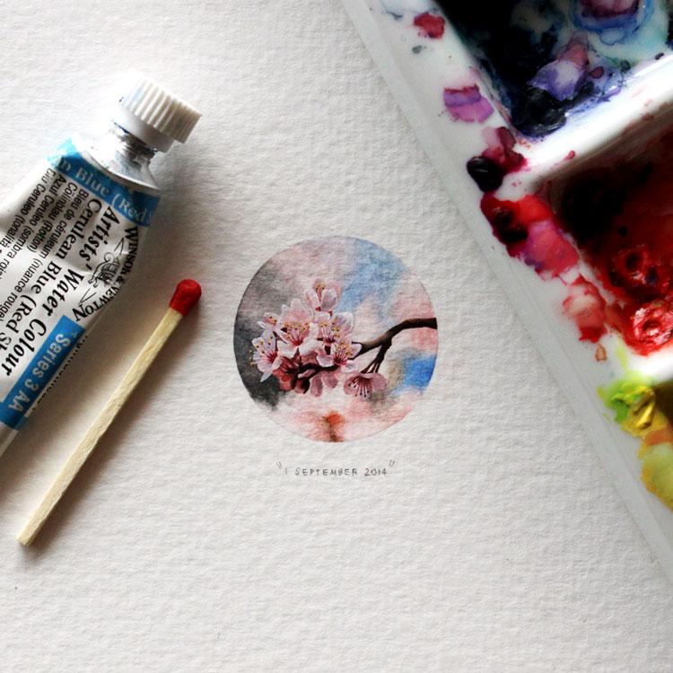 маленькие рисунки цветов