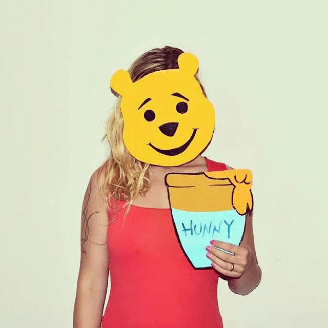 детские маски из картона