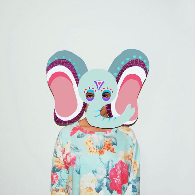 маски животных из картона
