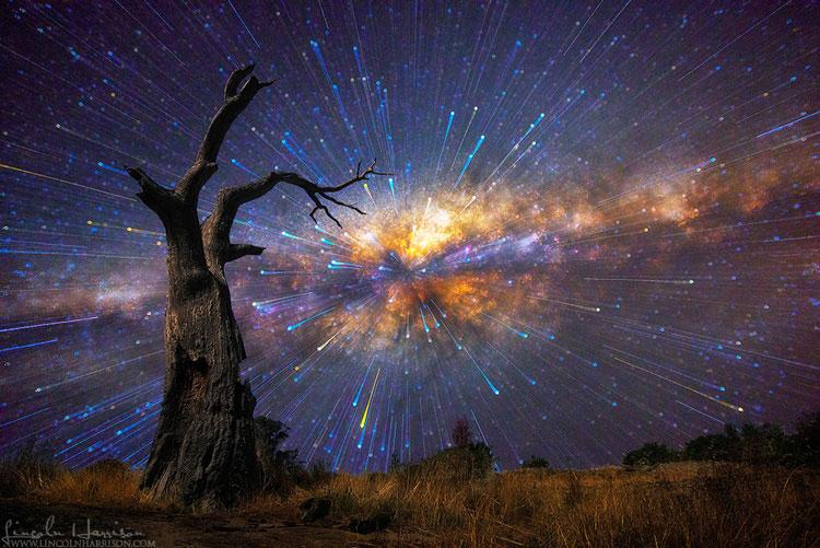 много звёзд на небе