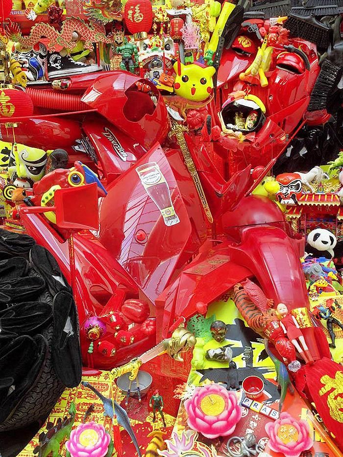 мусорное искусство бернара праса