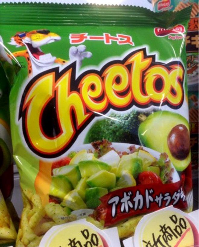 необычные вкусы чипсов
