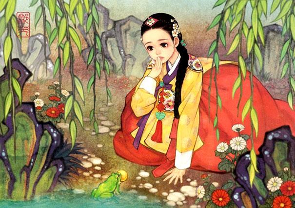 принцесса и лягушка картинки