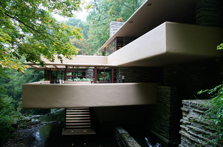 райт дом над водопадом