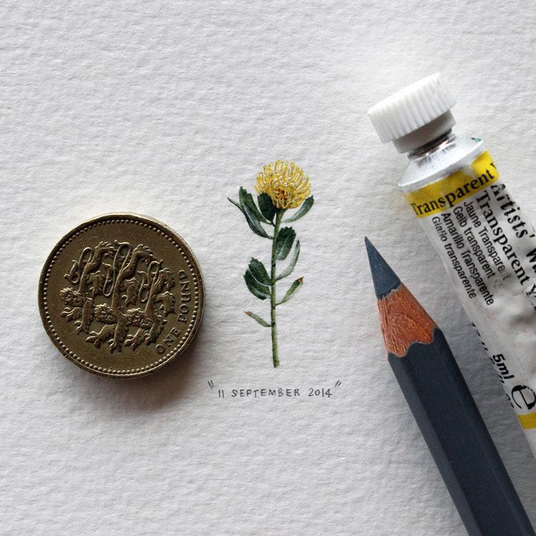 рисунки маленькие цветы