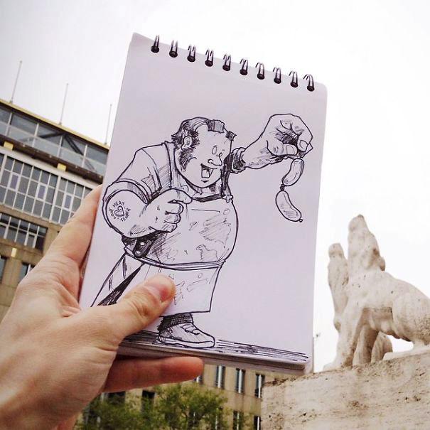 рисунки ручкой картинки