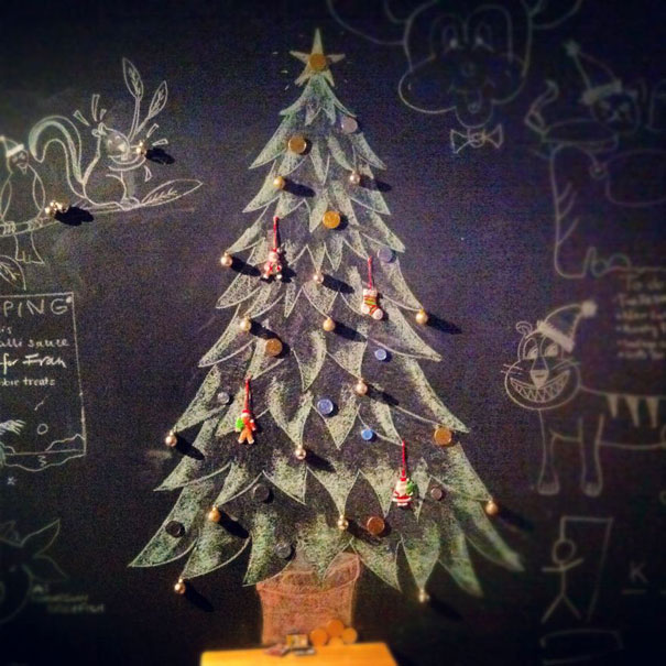 самые красивые новогодние ёлки