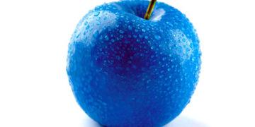 синяя еда