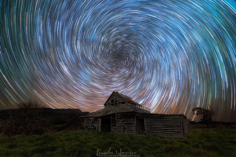 звёзды на небе ночном