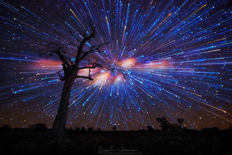 звёзды на звёздном небе