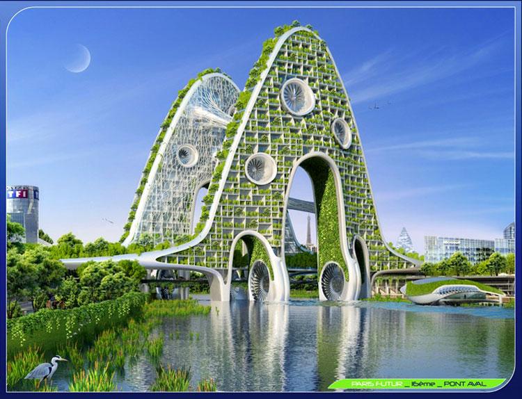 архитектура город будущего