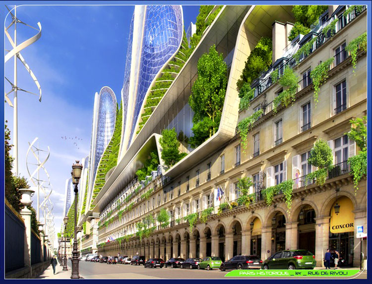 будущий город картинки