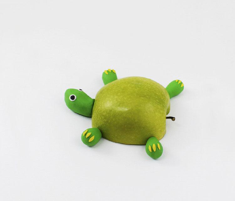 детские поделки из фруктов