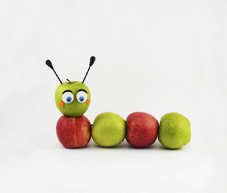 детские поделки на тему фрукты