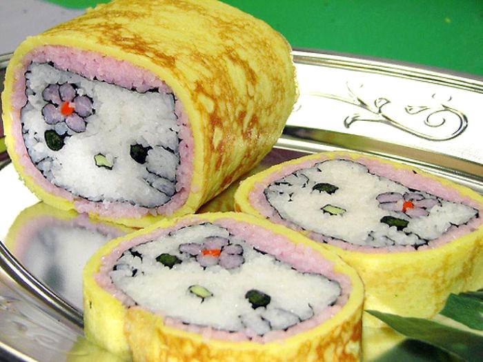 еда по-японски