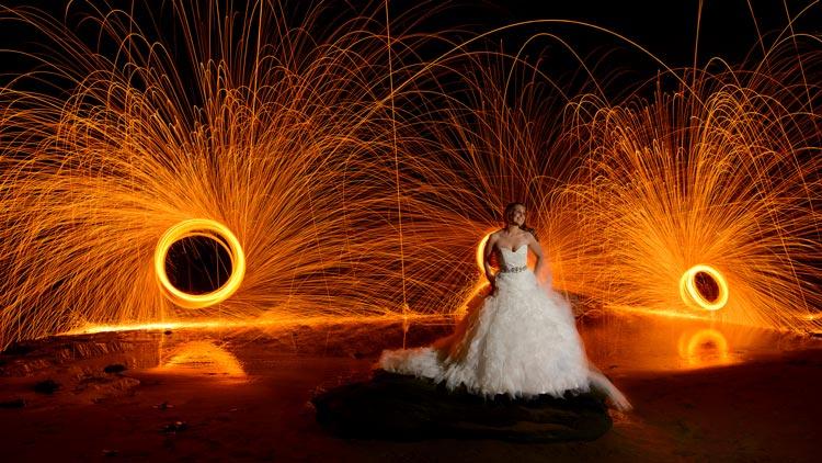 фаер-шоу на свадьбу