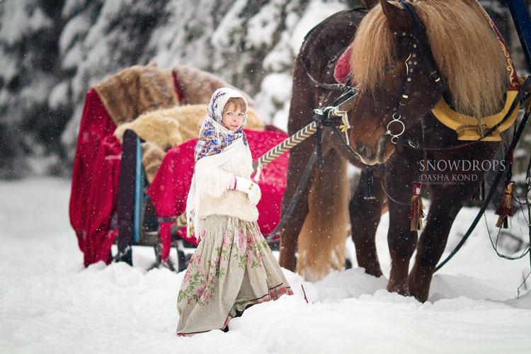 фото русская зима