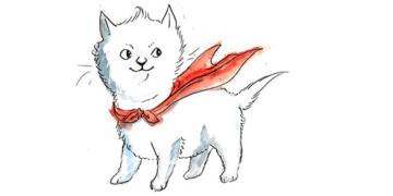 кот-герой