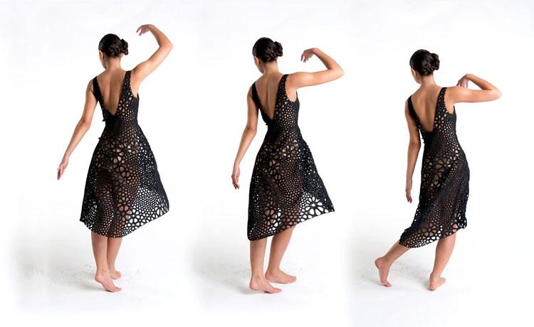 платья на 3д принтере