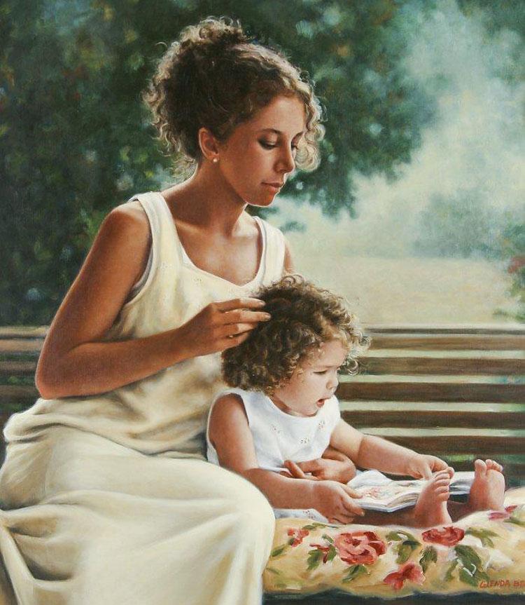 Рисунок ребенка цветы фото