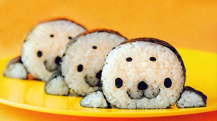 оформление суши