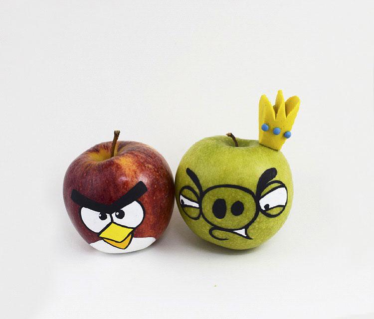 поделки из фруктов фото