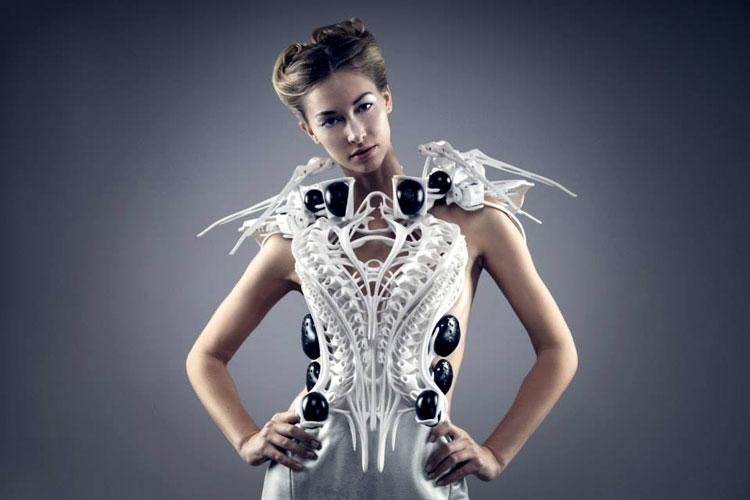 платья на 3d принтере