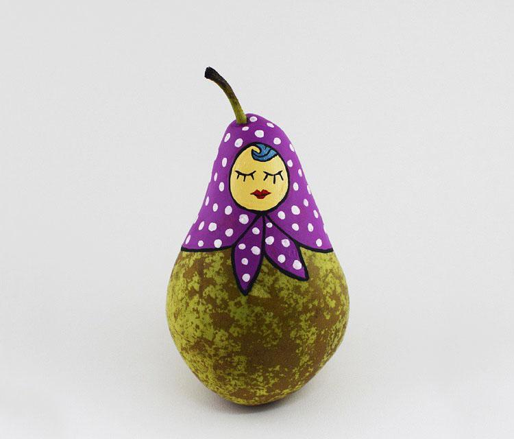 роспись фруктов