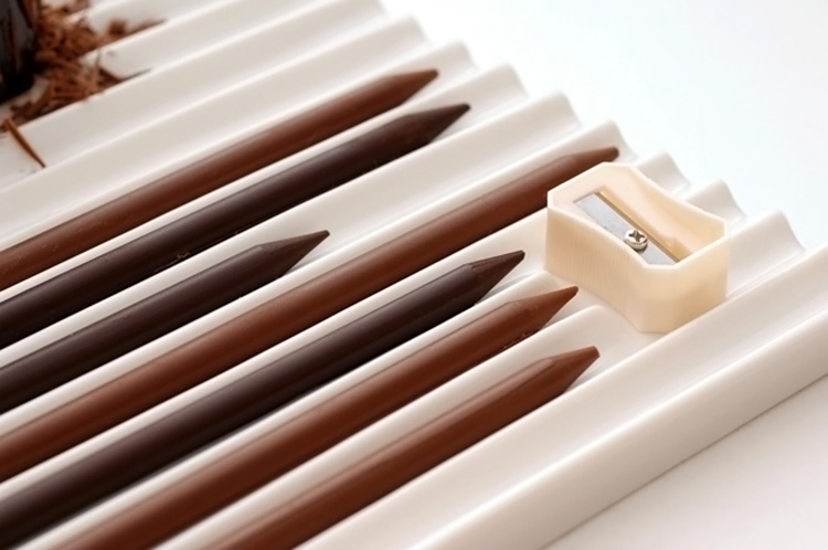 шоколадные карандаши