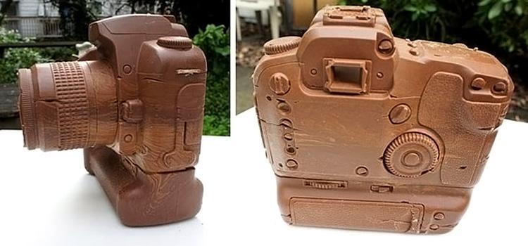 шоколадный фотоаппарат