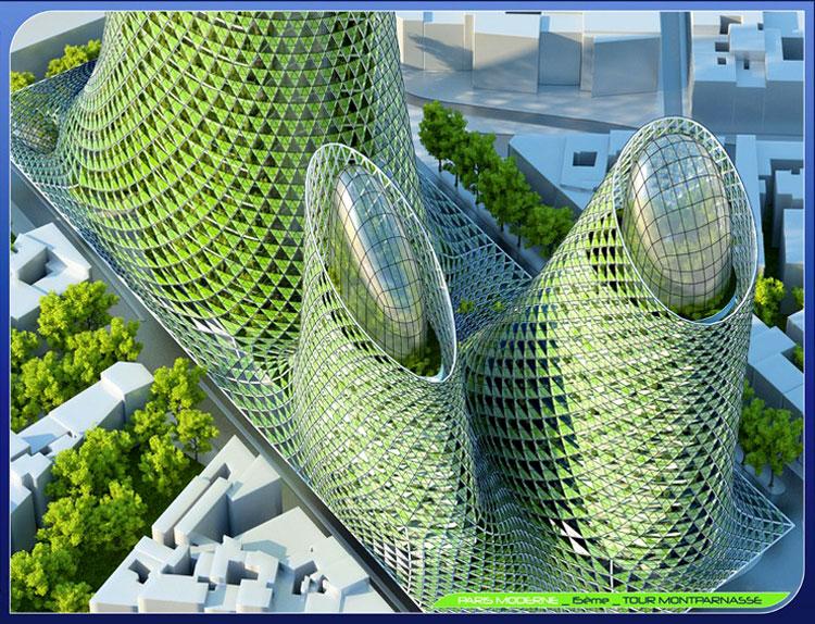 тема город будущего