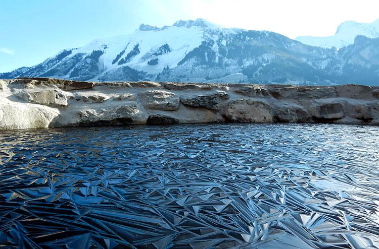 зимнее озеро фото