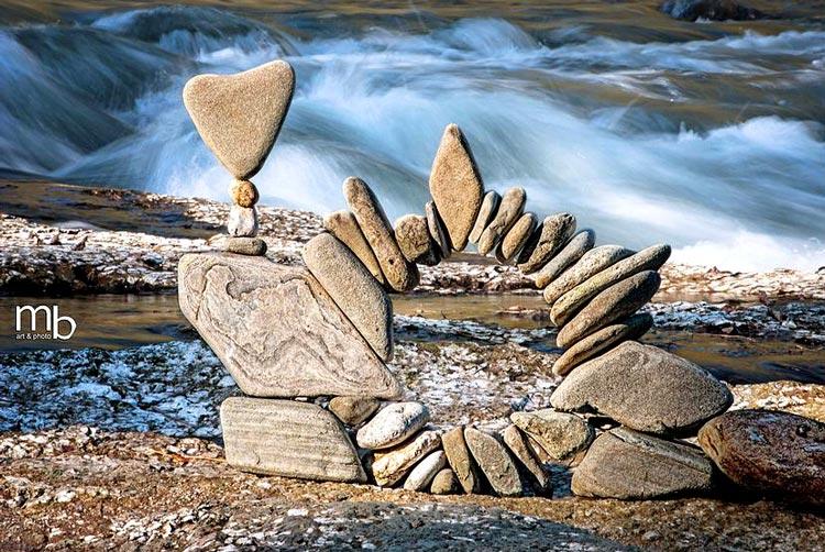 балансировка камней