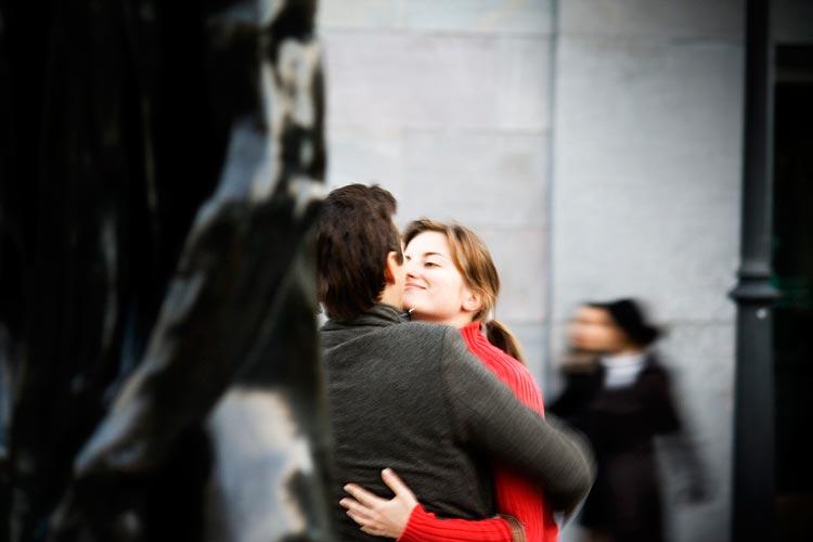 фото двое влюблённых