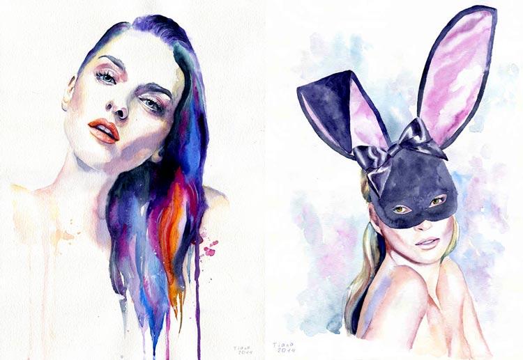 красивые портреты женщин