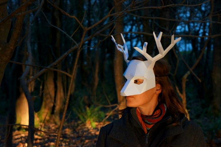 бумажные маски фото