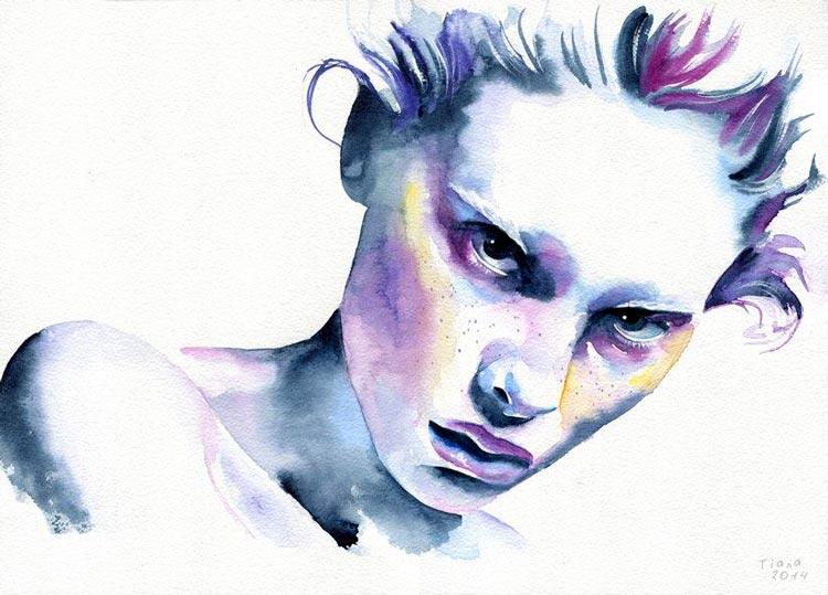 портреты женщин