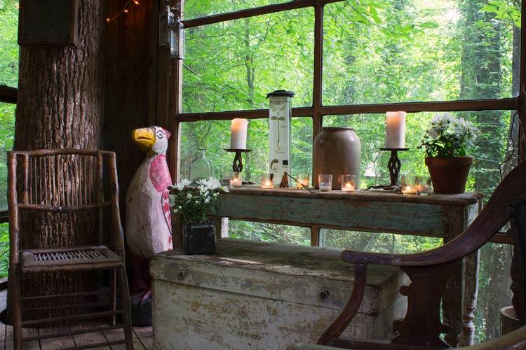 сказочные домики из дерева