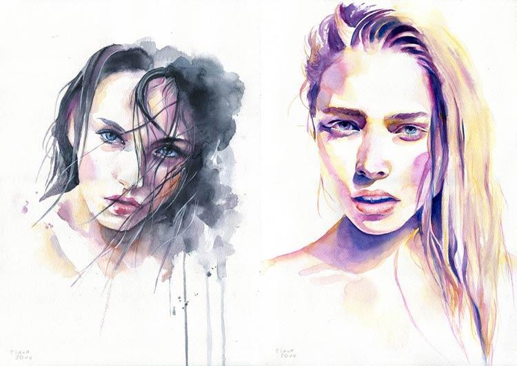 живопись портреты женщин