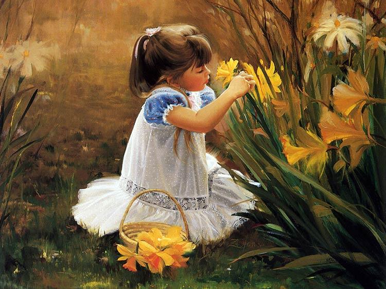 дети в живописи фото