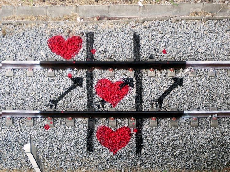 граффити для девушки