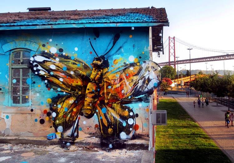 граффити стрит-арт