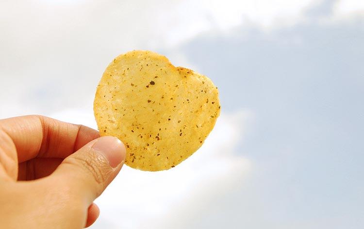 история создания чипсов