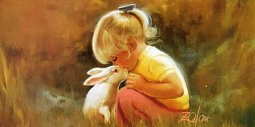 картины посвященные детям