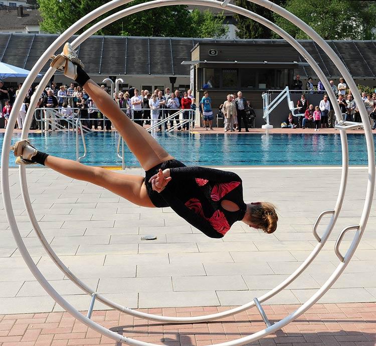 колесо гимнастическое немецкое