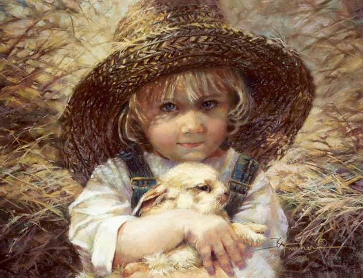 красивые картины с детьми