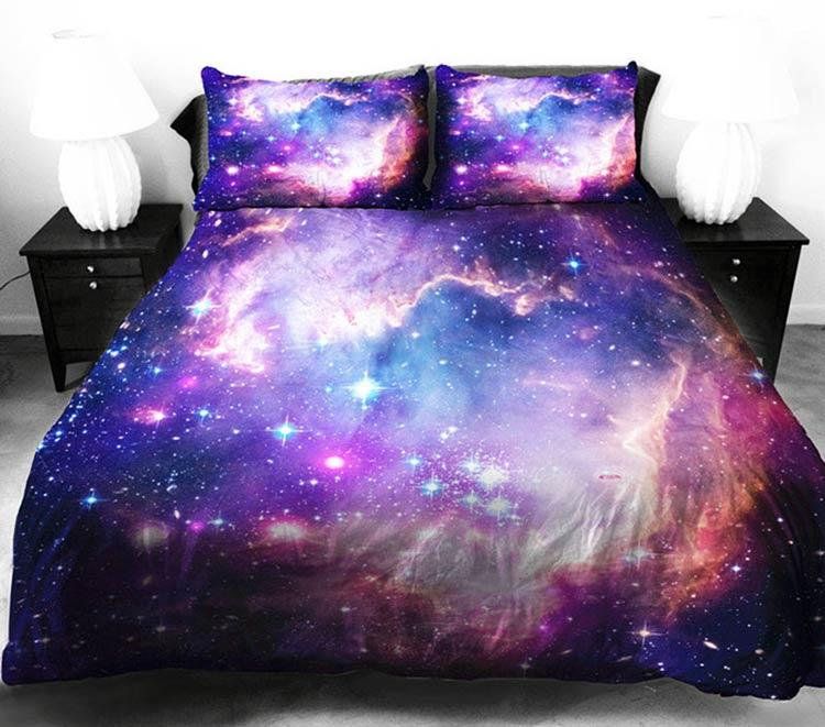 постельное белье вселенная космос
