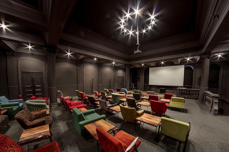 зрительный зал кинотеатра
