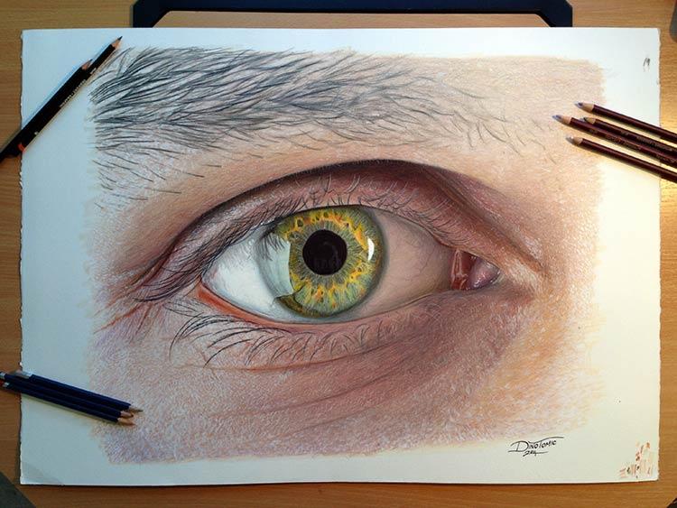 что можно нарисовать цветными карандашами